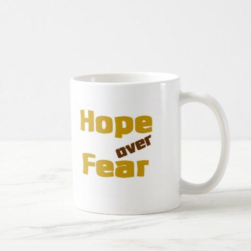 Hope over Fear Classic White Coffee Mug