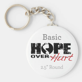 Hope Over Hurt Keychain