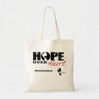 Hope Over Hurt Tote Bag