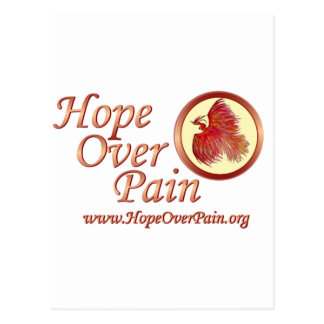 _Hope Over Pain - Pheonix 12 with addy Postcard