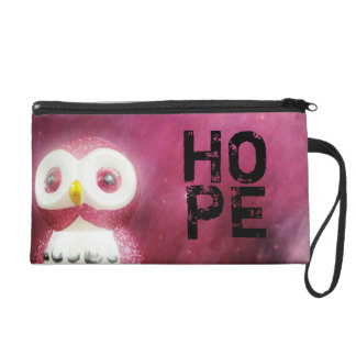 Hope, Owl Wristlet Purse