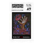 """Hope"" Pain Art - Sickle Cell Awareness Stamp"