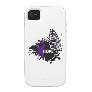 Hope Pancreatitis Butterfly iPhone 4 Covers