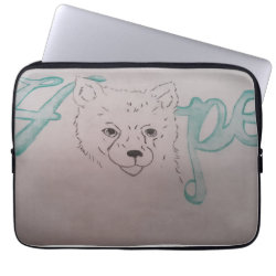Neoprene Laptop Sleeve 13 inch with Pomeranian Phone Cases design