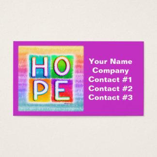 HOPE Pop Art Business Cards
