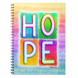 Hope Pop Art Inspirational Notebook