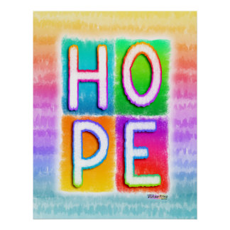 HOPE Pop Art Posters