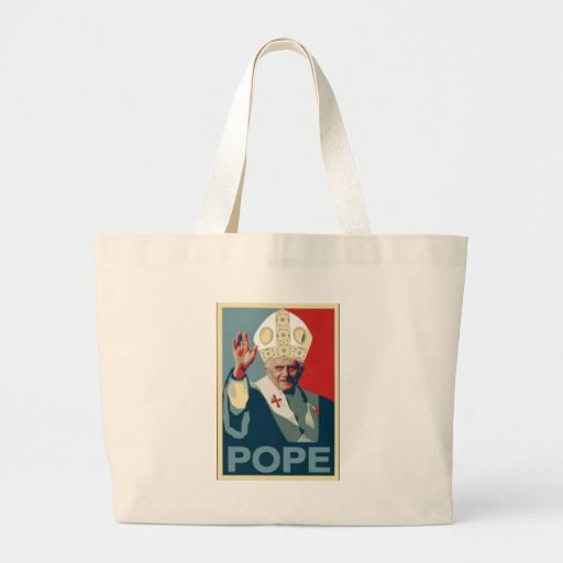 HOPE POPE CANVAS BAG