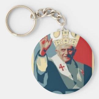 HOPE POPE KEYCHAIN