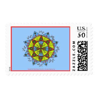 Hope - Postage Stamp (light blue)