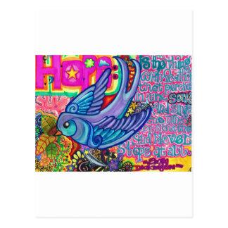 Hope. Postcard