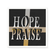 hope-praise napkins