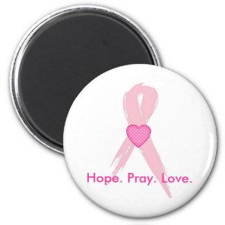 Hope.Pray. Amor. Imán de la conciencia del cáncer