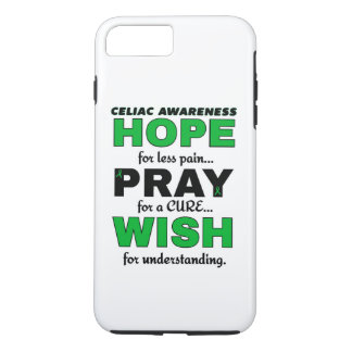 Hope Pray Wish...Celiac iPhone 8 Plus/7 Plus Case
