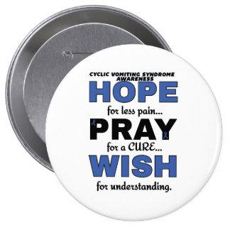 Hope Pray Wish...CVS Pinback Button