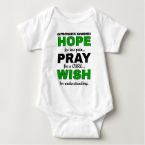 Hope Pray Wish...Gastroparesis Baby Bodysuit