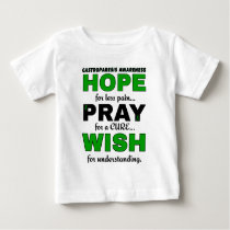 Hope Pray Wish...Gastroparesis Baby T-Shirt