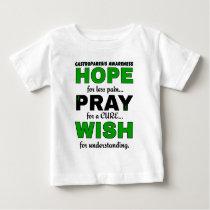 Hope Pray Wish...Gastroparesis Baby T-Shirt