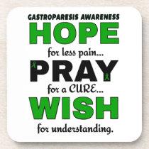 Hope Pray Wish...Gastroparesis Coaster