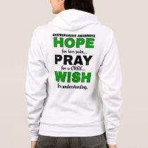 Hope Pray Wish...Gastroparesis Hoodie