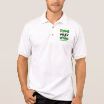 Hope Pray Wish...Gastroparesis Polo Shirt