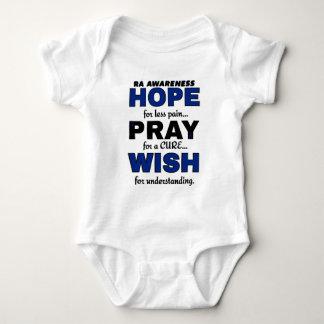 Hope Pray Wish...RA Baby Bodysuit