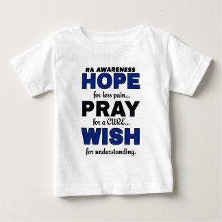 Hope Pray Wish...RA Baby T-Shirt