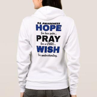 Hope Pray Wish...RA Hoodie