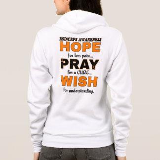 Hope Pray Wish...RSD/CRPS Hoodie
