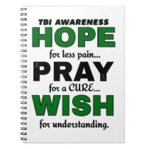 Hope Pray Wish...TBI Notebook
