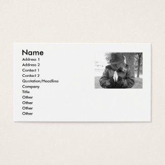Hope Prayer Business cards
