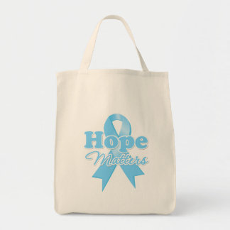 Hope Prostate Cancer Grocery Tote Bag