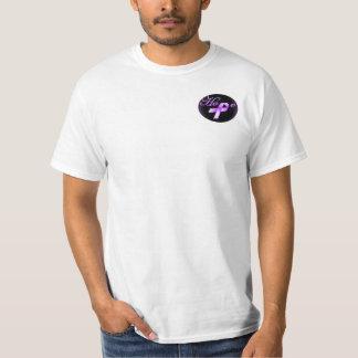 Hope Purple Ribbon Awareness T-shirt