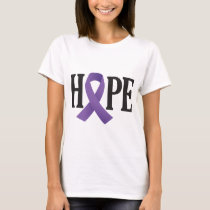 Hope Purple Ribbon T-Shirt