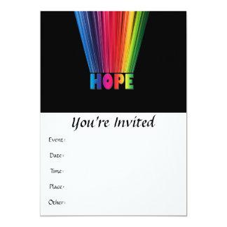 Hope Rainbow Card