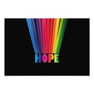 Hope Rainbow Photo Print