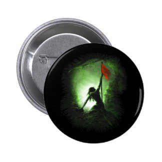 Hope Red Flag Pinback Button