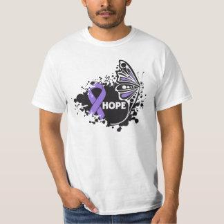 Hope Rett Syndrome Butterfly Tee Shirt