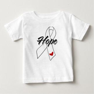 Hope Ribbon - Bone Cancer T-shirts