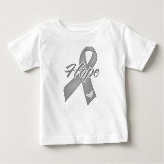 Hope Ribbon - Brain Cancer Tee Shirts