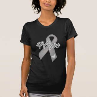 Hope Ribbon - Brain Cancer Shirt