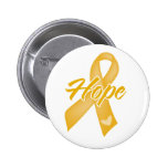 Hope Ribbon - Childhood Cancer Buttons