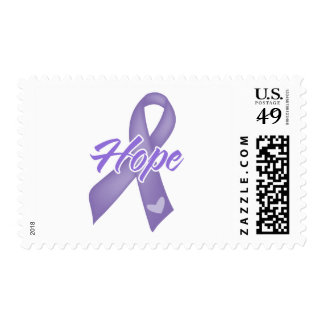 Hope Ribbon - Hodgkin's Lymphoma Postage Stamp