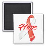 Hope Ribbon - Oral Cancer Magnet