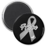 Hope Ribbon - Parkinson's Disease Refrigerator Magnets