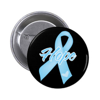 Hope Ribbon - Prostate Cancer Button