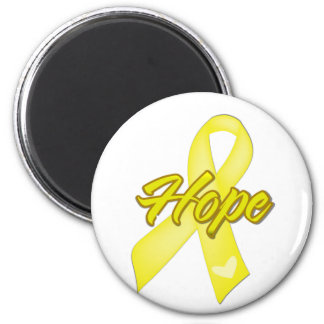 Hope Ribbon - Sarcoma 2 Inch Round Magnet