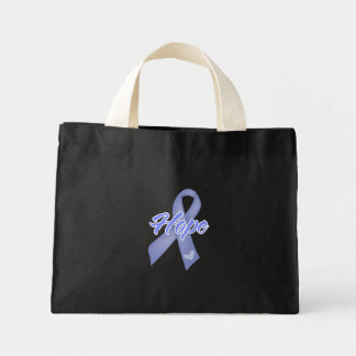 Hope Ribbon - Stomach Cancer Tote Bags
