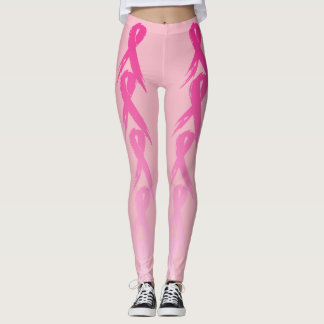 Hope Ribbon Trial (Breast Cancer) Leggings