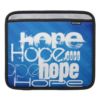 Hope; Royal Blue Stripes Sleeve For iPads